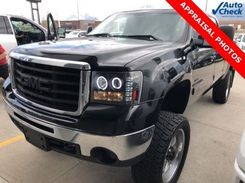Pre-Owned 2008 GMC Sierra 2500HD SLT 4WD Crew Cab Pickup